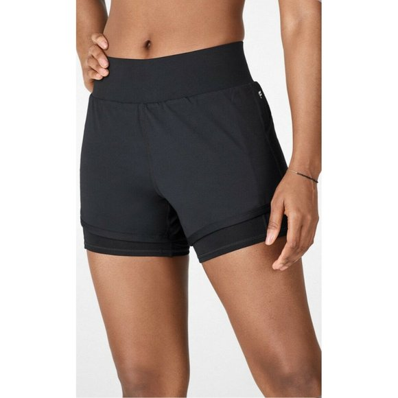 Fabletics Pants - Fabletics Olesia Lined Running Shorts